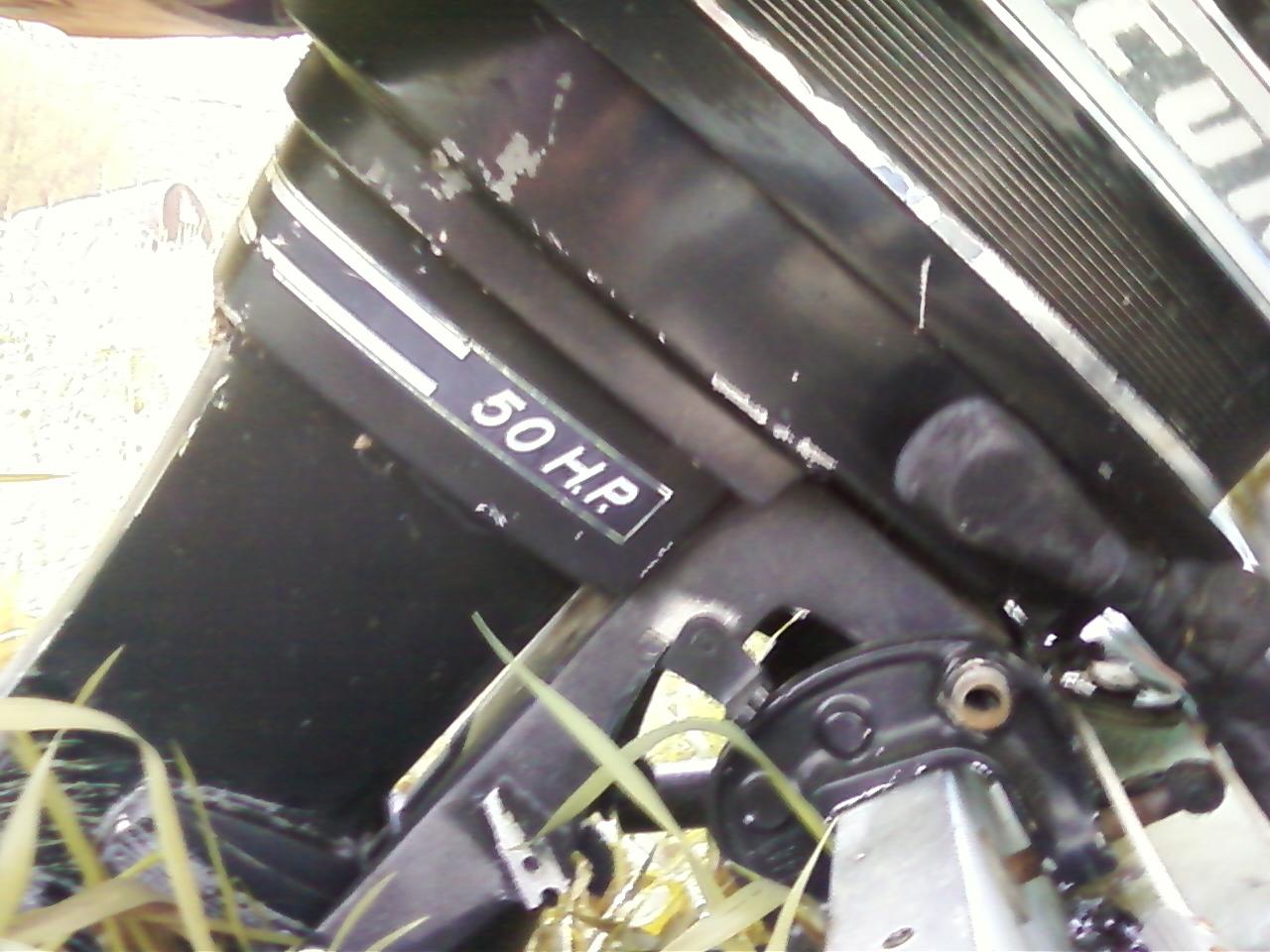 1970 50 Hp Mercury Outboard Motor
