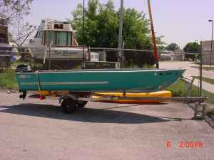 15ft 197x aerocraft aerocraft boats for Used aluminum fishing boats on craigslist