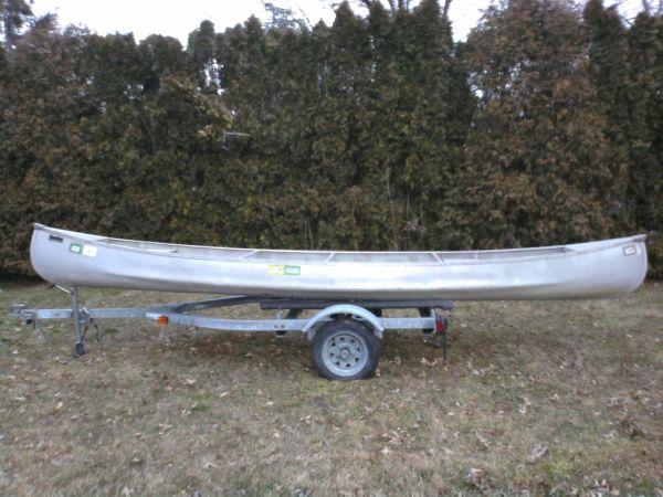 17ft AeroCraft Apache 17 Canoe | AeroCraft Boats
