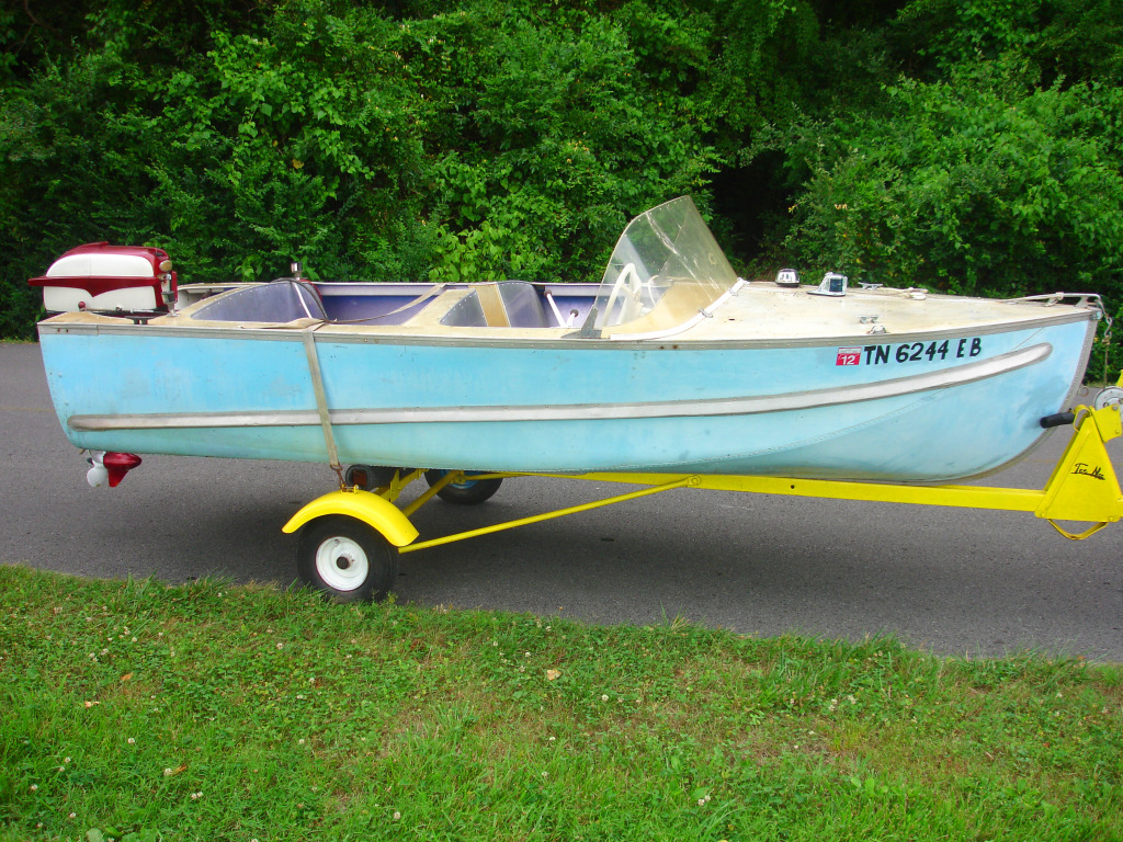 Robert Rogers 14ft 1958 Aerocraft Jsa Aerocraft Boats