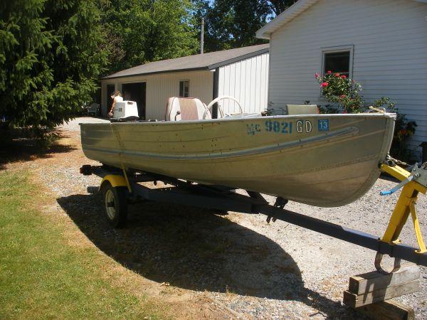 14ft 196x aerocraft q 14 aerocraft boats for 16 foot aluminum boat motor size