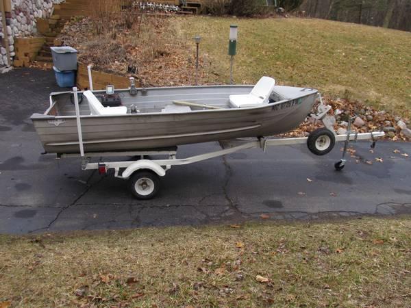 12ft 196x aerocraft p 12 aerocraft boats for Used fish finders craigslist