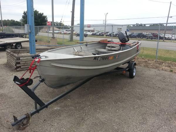 14ft 196x aerocraft q 14 aerocraft boats for Used aluminum fishing boats on craigslist