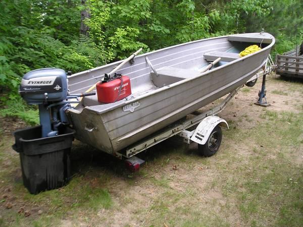 14ft 197x aerocraft q 14 aerocraft boats for Used aluminum fishing boats on craigslist