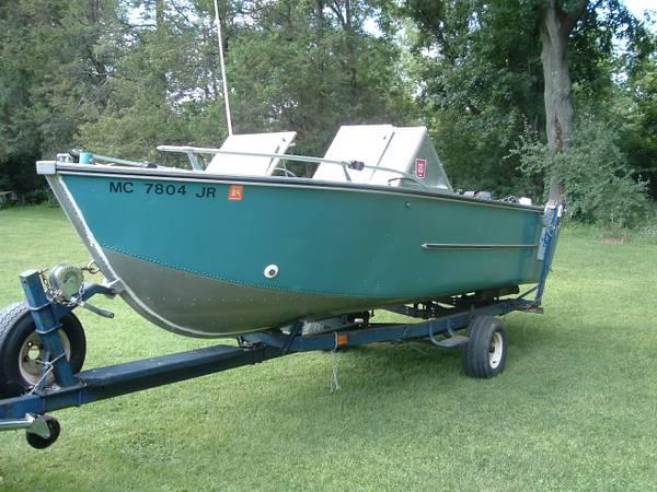Craigslist Lansing Mi >> 18ft 197x AeroCraft Fishmaster II? | AeroCraft Boats