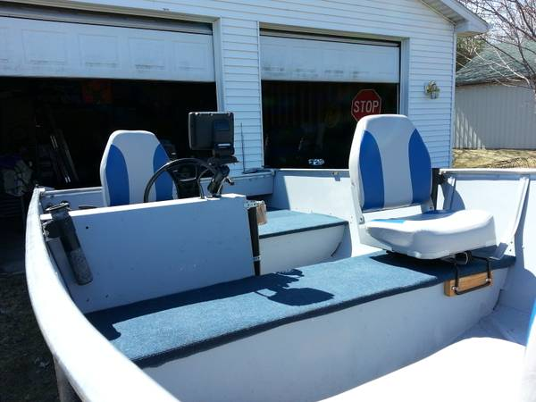 16ft 1976 aerocraft super guide 16 aerocraft boats for Used fish finders craigslist