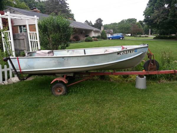 12ft 1960 aerocraft p 12 aerocraft boats for Craigslist fishing boats for sale