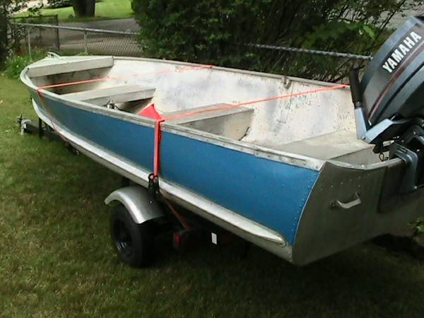 14ft 1958 aerocraft q 14 aerocraft boats for Used aluminum fishing boats on craigslist