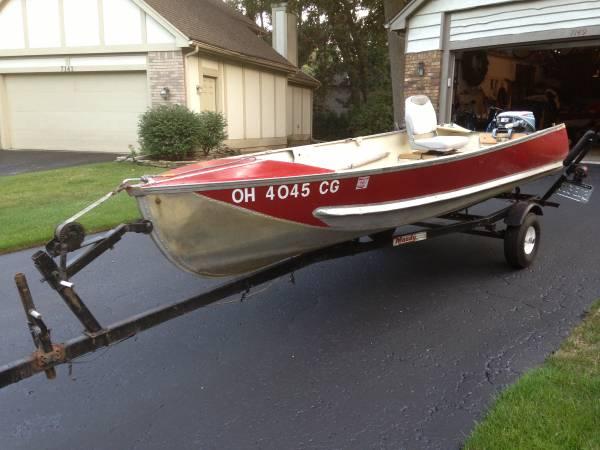 13ft7in 1956 aerocraft q aerocraft boats for Used aluminum fishing boats on craigslist