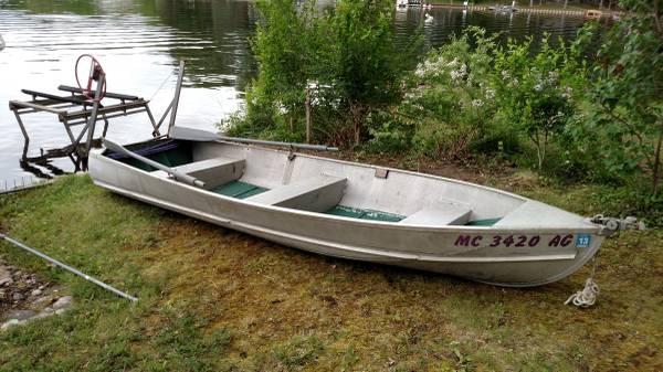 14ft 195x aerocraft k aerocraft boats for Used aluminum fishing boats on craigslist