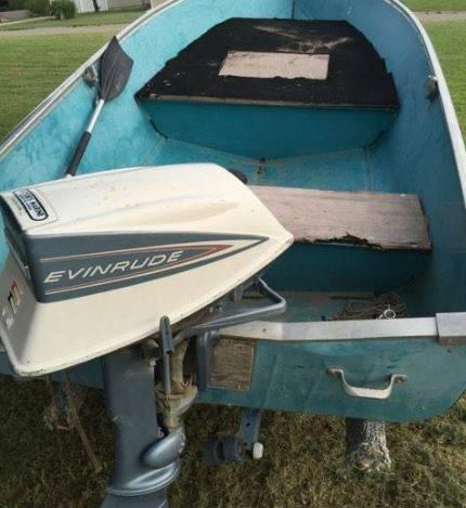 12ft 1972 Aero Craft Scout-12   AeroCraft Boats