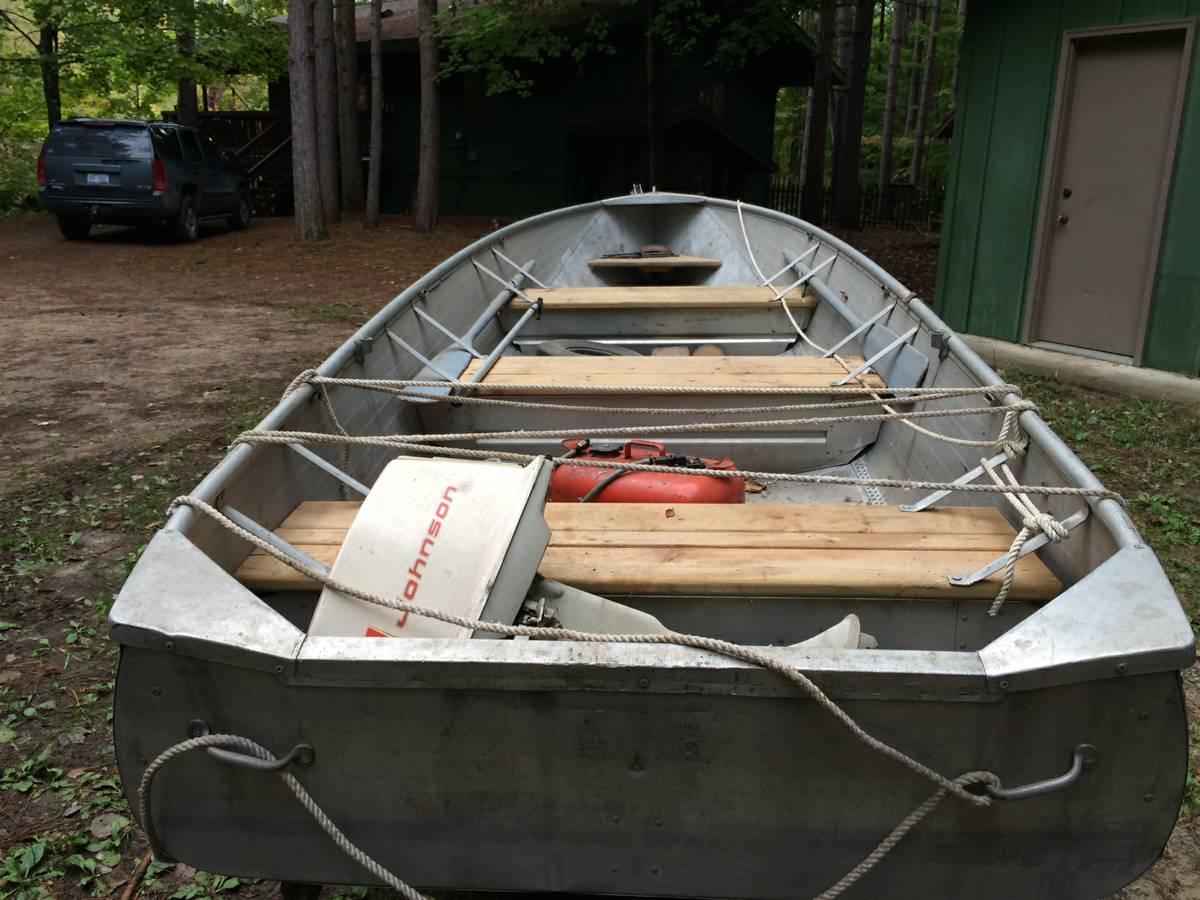 16ft 195x aerocraft h aerocraft boats for Used aluminum fishing boats on craigslist