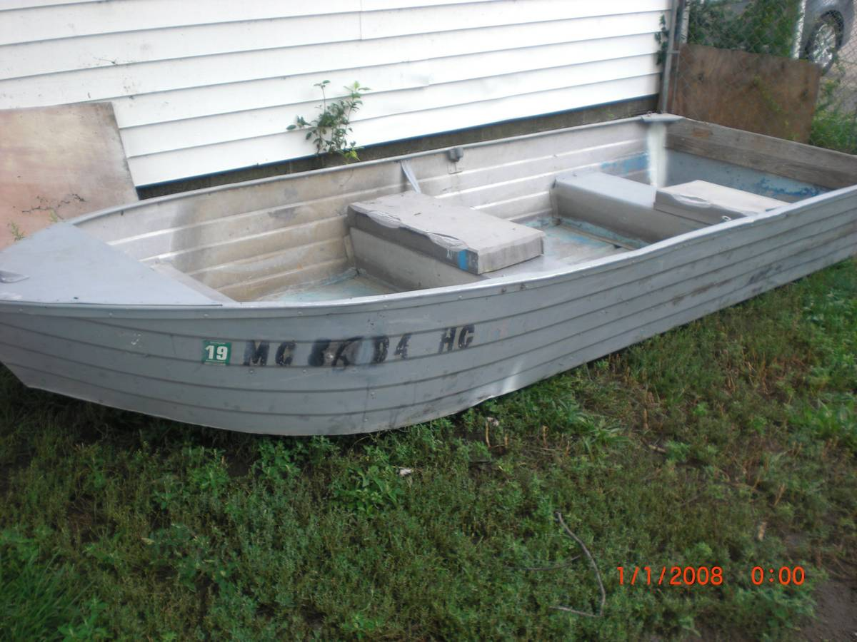 12ft 196x aerocraft k 12 aerocraft boats for Used aluminum fishing boats on craigslist