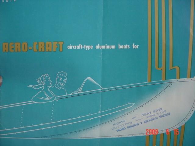1957 AeroCraft Catalog | AeroCraft Boats
