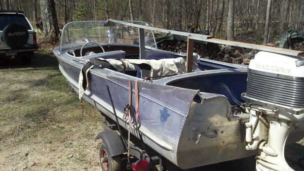 16ft 1958? Aero-Craft Blue-Sabre   AeroCraft Boats